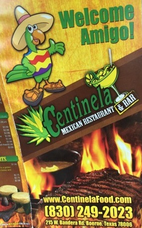 Centinela Mexican Restaurant Menu 3